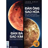 Đàn Ông Sao Hỏa Đàn Bà Sao Kim - Tặng kèm 1 bookmar hình ngẫu nhiên như hình