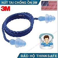 Nút chống ồn 3M 1290 - Nút bịt tai chống ồn khi ngủ, khi làm việc, chất liệu Silicone