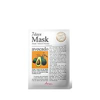 Mặt Nạ 7 Ngày Tinh Chất Trái Bơ Ariul 7 Days Mask Avocado 20ml