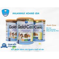 Sữa bột Gold Care Halan Milk - Đông Trùng Hạ Thảo - Nano Curcumin - Sữa Non