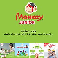 Monkey junior Phần mềm học tiếng Anh cho bé 0 - 10 tuổi trên Toàn Quốc và Quốc Tế