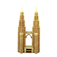 Bộ xếp hình 3D bằng gỗ TÒA THÁP ĐÔI ALCC