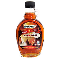 Siro Lá Phong Maple Syrup Hữu Cơ Radiant Code (250ml)