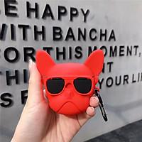 Airpods PRO case, Ốp bảo vệ Airpods PRO - Chó đeo kính