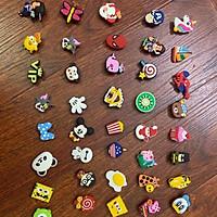 Combo 50 Stickers / Jibbitz 2D