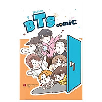 BTS Comic - Tặng Kèm 2 Postcard + 1 Móc Khóa Thành Viên (Mẫu Ngẫu Nhiên Các Thành Viên) - Số Lượng Có Hạn