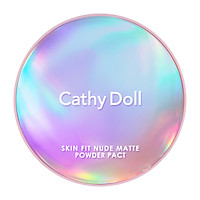 Phấn phủ Cathy Doll Skin Fit Nude Matte Powder Pact SPF30 Pa+++