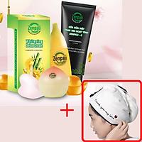 Combo Bạch Tuyết Zenpali giúp dưỡng da sáng trắng, Tặng kèm khăn ủ tóc cực xinh