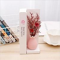 Lọ tinh dầu khuếch tán hương nước hoa thơm phòng kèm hoa khô trang trí, mã TD101- giao màu ngẫu nhiên