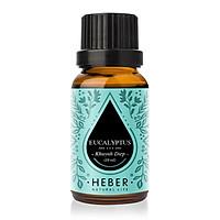 Tinh Dầu Khuynh Diệp Eucalyptus Essential Oil Heber | 100% Thiên Nhiên Nguyên Chất Cao Cấp | Nhập Khẩu Từ Ấn Độ | Kiểm Nghiệm Quatest 3 | Xông Thơm Phòng