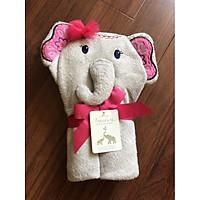 Chăn ủ - khăn tắm hình thú cho bé gái