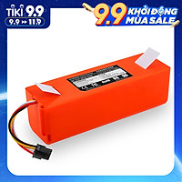 14.4V Lithium Battery Replacement for XIAOMI Vacuum Cleaner Sweeper Accessories