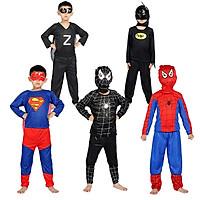Cosplay Halloween Childrens Suits Costume Superheroes