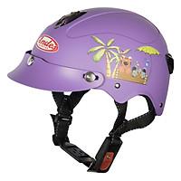 Mũ Bảo Hiểm Trẻ Em Andes 3S108S Tem Nhám S96 - Đỏ