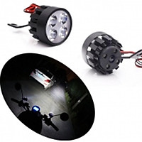 Đèn Trợ Sáng Gắn Gương Xe Máy core 2 C4(2 đèn) - đèn trợ sáng , đèn pha xe máy, đèn led xe máy, đèn led trợ sáng 206401