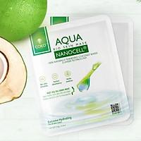 Combo 10 Mặt Nạ Da Sinh Học Dưỡng Ẩm Chuyên Sâu COKO NANOCELL Aqua Mask (23g/miếng) esng)