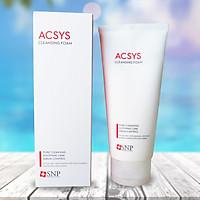 Sữa Rửa Mặt Ngăn Ngừa Mụn Sạch Nhờn SNP Acsys Cleansing Foam