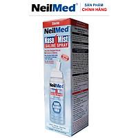 Chai Xịt Rửa Mũi Phun Sương Dưỡng Ẩm Dịu Mũi NeilMed NasaMist Saline Spray Isotonic 75ml - Xuất Xứ Mỹ
