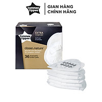 Miếng lót thấm sữa Tommee Tippee Closer to Nature (hộp 36 miếng)