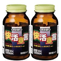 Combo 2 hộp Tinh chất hàu tươi tỏi nghệ Orihiro VivaCity Nhật Bản 180 viên
