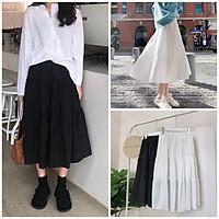 Chân váy Vintage 2 lớp Siêu Xinh 2 Màu
