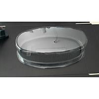 Hộp nhựa Oval đế đen dài 21cm (100 hộp)