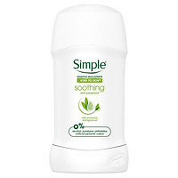 Lăn khử mùi Simple Kind To Skin Soothing Anti Perspirant 40ml