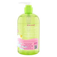 Sữa Tắm Gội Purité Baby Hoa Anh Đào Natural 2in1 Baby Wash Cherry Blossom (500ml)