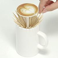 Lọ đựng tăm latte