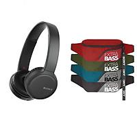 Tai nghe Sony WH-CH510 + Quà tặng Túi Đeo Chéo Extrabass - Hàng Chính Hãng