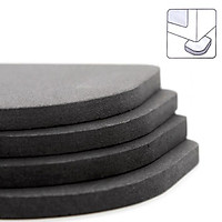 4pcs/set Anti-vibration Pad Washer Anti-Slip Mats Shock Absorbers Noiseless Pad for Washing Machine