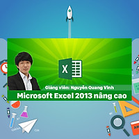 Khóa Học Microsoft Excel 2013 Nâng Cao | cashback.com.vn
