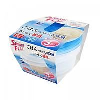 Hộp nhựa đựng thực phẩm Smart Flap 440mlx3
