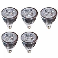 Đèn Led chiếu điểm tiết kiệm điện nhôm Gnesco E14 5W bộ 5 cái (SÁNG TRẮNG)