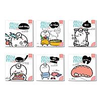 Bộ sách 06 cuốn EHON Phát triển kỹ năng sống cho bé - Miu Miu tự lập