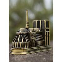 Mô hình nhà thờ Đức Bà ở Paris (màu vàng rêu)