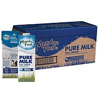 Thùng 12 hộp Sữa tươi tiệt trùng nguyên kem Meadow Fresh 1L