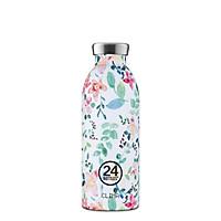 Bình giữ nhiệt chân không 24 Bottles Clima, dung tích 500ml, họa tiết hoa nhí