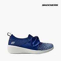 SKECHERS - Giày sneaker nữ thắt dây Arya 104030-NVLB