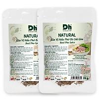 Combo 2 gói Natural Gia Vị Nấu Phở Bò Sài Gòn Dh Foods