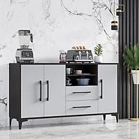Tủ bếp 3 cửa hiện đại 1m4 TUR047