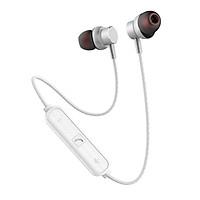 Tai Nghe thể thao kim loại Bluetooth SENDEM E32 - Nghe nhạc hay - Đàm thoại tốt - chống nước - cách âm tốt - Hàng chính hãng