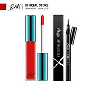 Combo Son Last Velvet Lip Tint (02, 25, 12 ,38,A5 ) và Bút kẻ mắt Bbia Last Pen Eyeliner