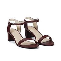 Juno - Giày sandal gót vuông quai ngang SD05038