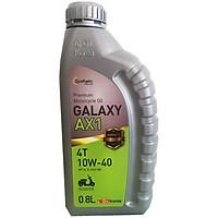 Nhớt xe máy tay ga Galaxy AX1 cao cấp Hàn Quốc - 800ml - Hàng chính hãng