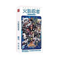 Postcard Naruto hộp ảnh bộ ảnh có ảnh dán sticker lomo bưu thiếp anime chibi tặng ảnh thiết kế vcone