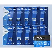 COMBO 10 THẺ NHỚ MICRO SD NETAC 32GB - HÀNG CHÍNH HÃNG