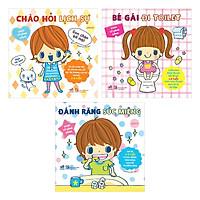 Combo 3 Quyển Ehon Nhật Bản - Ehon Kỹ Năng Sống Cho Bé Gái