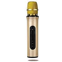 Micro Bluetooth Cầm Tay Hát Karaoke Phát Nhạc Qua Thẻ Nhớ, USB K6L - Hàng Chính Hãng PKCB