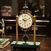 Đồng hồ để bàn cao cấp - cao 46cm dài 29cm